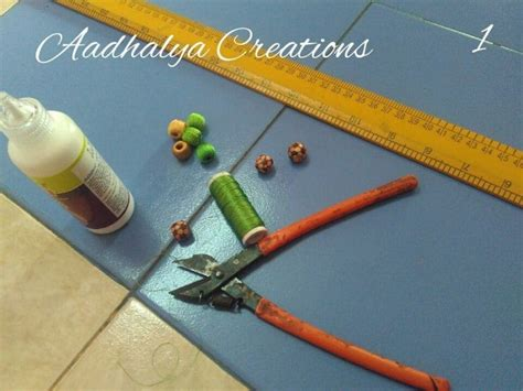 how to make beaded necklace with thread how to make thread beaded jewelry simple craft ideas
