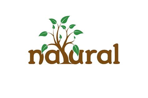 natural logo templates creative market