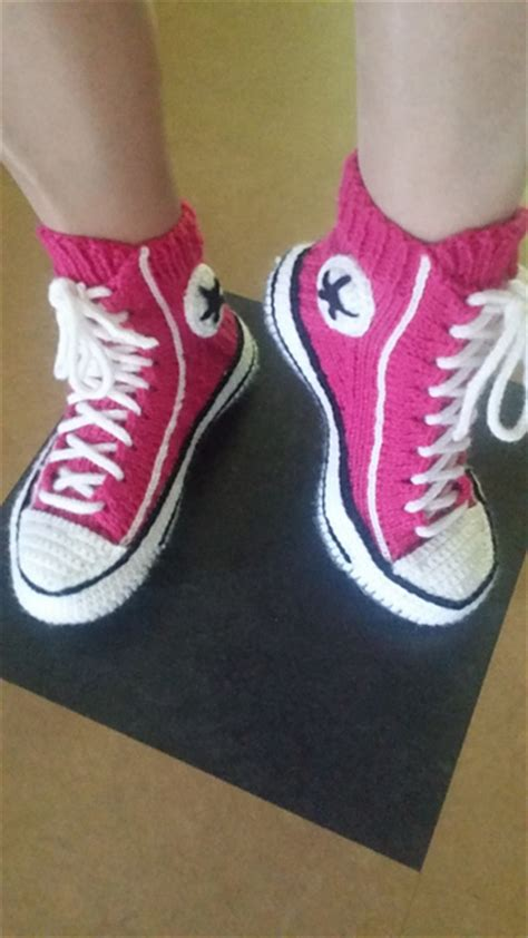 knitted sneakers pattern converse crochet and knit patterns andrea s notebook