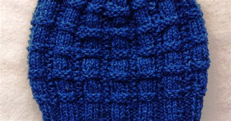 knitting for peace knitting for peace blue beanie