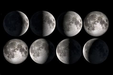 the moon lunar month lunation synodic month