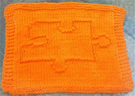 knitting puzzles digknitty designs puzzle autism knit dishcloth