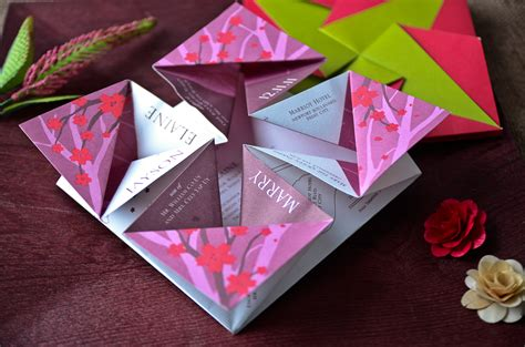 origami wedding invitations top 3 out of the box wedding invitations printsonalities