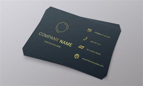 how to make name card how to make a business card in photoshop photoshop