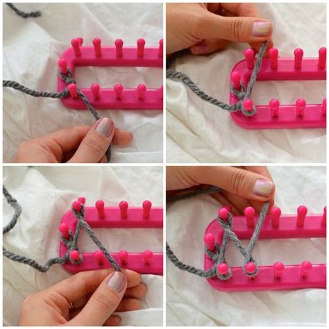 how to cast loom knitting a scarf 1000 ideas about loom scarf on loom knitting