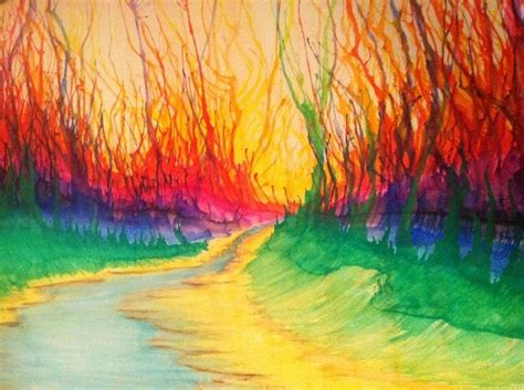 coloured water watercolor paintings more about them bored