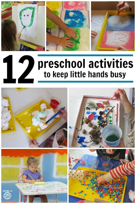 projects for preschoolers 12 preschool activities to keep busy
