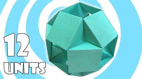 modular origami 12 units modular origami tutorial 12 units tomoko fuse