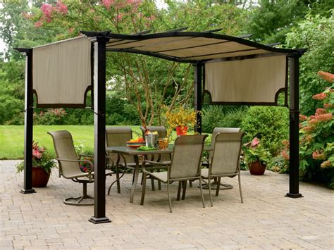 Backyard Canopy by Patio Gazebos And Canopies Outdoor Canopies Gazebos