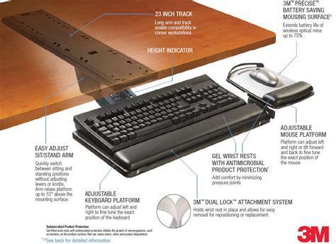 keyboard desk mount desk mount keyboard tray hostgarcia