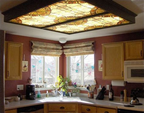 decorative fluorescent light panels kitchen decorative fluorescent lighting panel kitchen