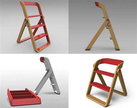 Designer Kitchen Handles designing for step stools core77