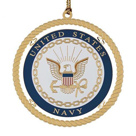 navy ornaments chemart navy brass ornament