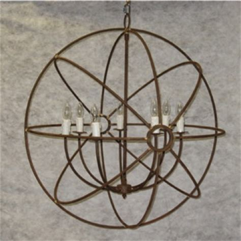 wrought iron orb chandelier wrought iron orb chandelier j10 30198 6 wrought with