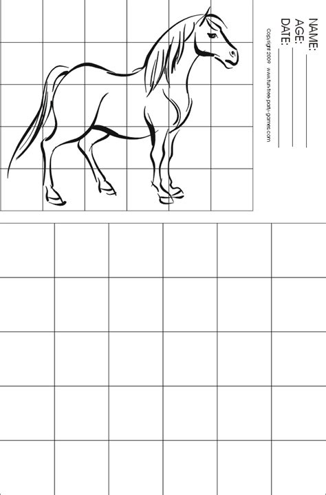 grid drawing drawing with grids activity standing by free