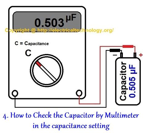 how to test how to test a capacitor 6 ways to check a capacitor
