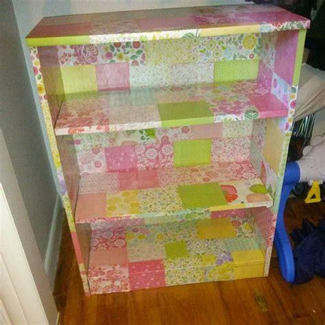 decoupage bookcase decoupage bookshelf m 243 veis restaurados