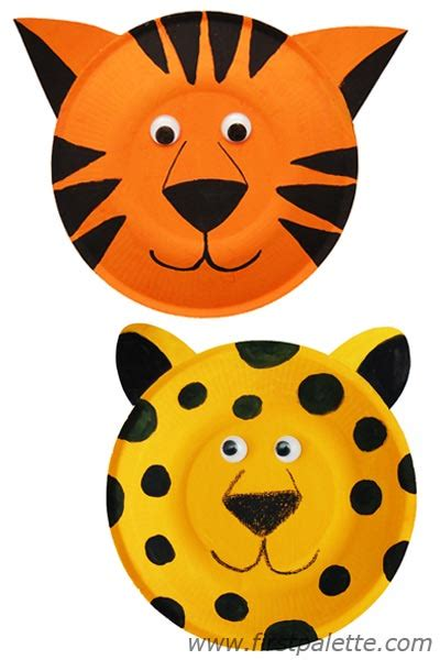 cheetah crafts for paper plate animals craft crafts firstpalette