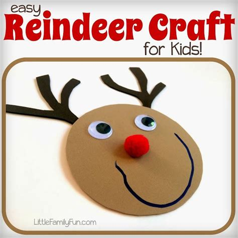 easy reindeer crafts for 87 best images about lesson plan on
