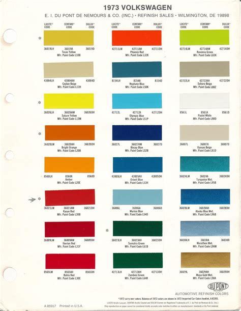 Volkswagen Colors by Volkswagen Colors School Volkswagen