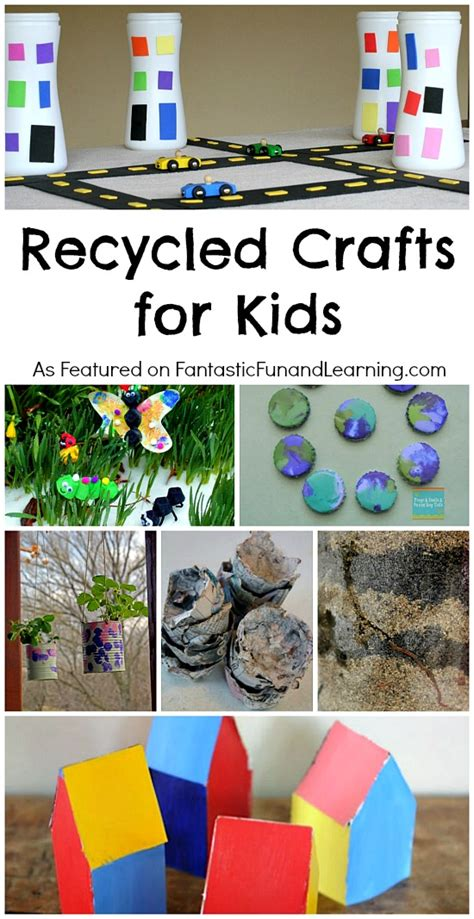 eco crafts for recycled crafts for