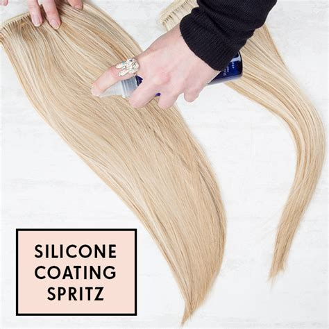 Review Silicone Coating For Hair Extensions Hair