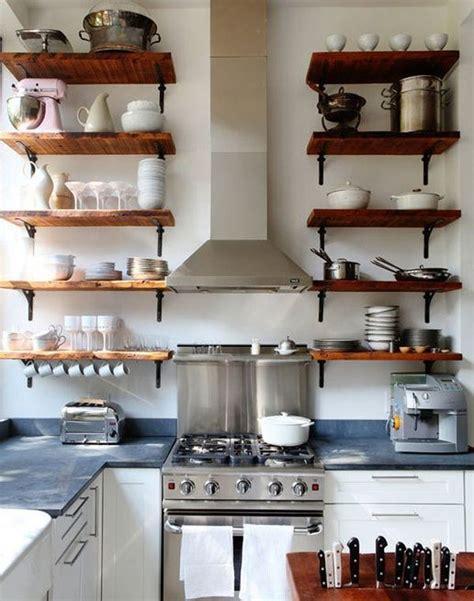 kitchen shelves reclaimed wood shelves for eco stylish interiors