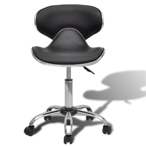 swivel chair with backrest black professional salon spa stool swivel chair with