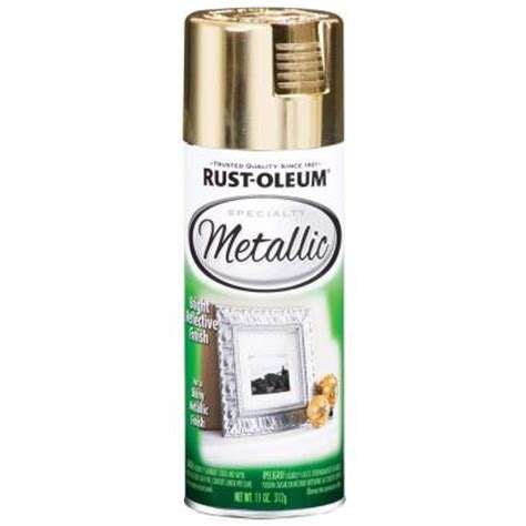 home depot spray paint for metal rust oleum specialty 11 oz metallic gold spray paint
