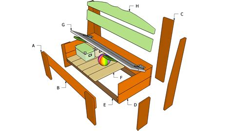 storage bench woodworking plans woodwork kitchen storage bench plans pdf plans