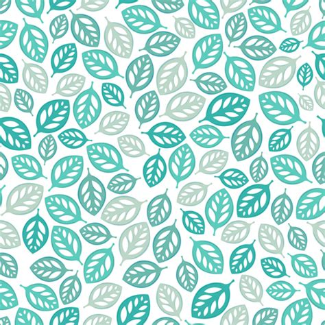 patterns free set of seamless leaves pattern vector 02 vector pattern