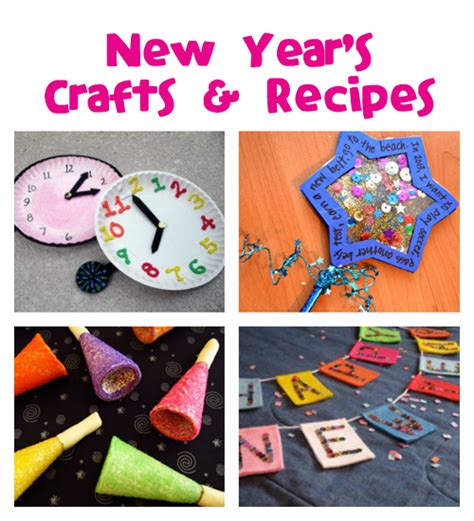 new years craft for new year s crafts recipes family crafts
