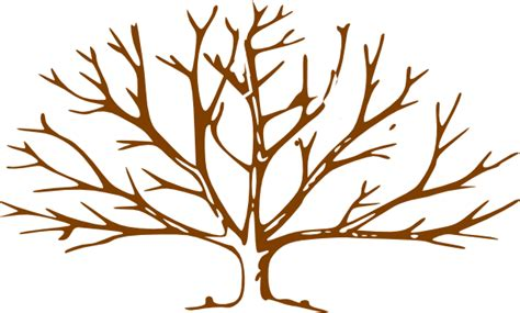 tree brown brown tree clip at clker vector clip