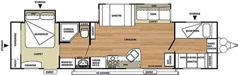 salem travel trailer floor plans 2013 salem floorplans s trailer sales brockway pa