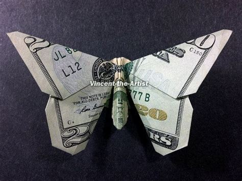 butterfly dollar bill origami butterfly money origami insect animal dollar bill