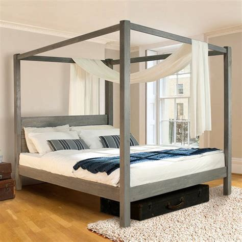 classic bed frames wooden four poster bed frame classic by get laid beds