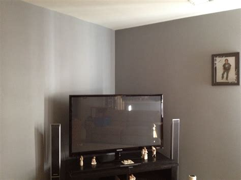 grey wall paint home decor savingsavvysisters