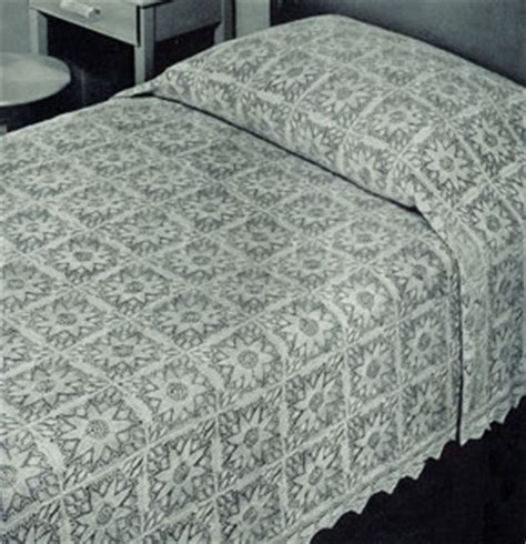 knitted bedspread patterns free free bed spread pattern lena patterns