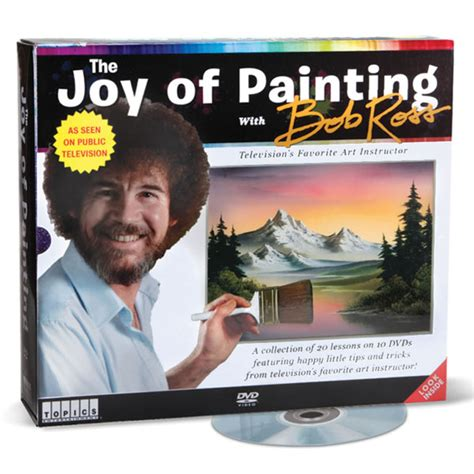 bob ross painting dvd set no pressure just relax and it happen by bob ross