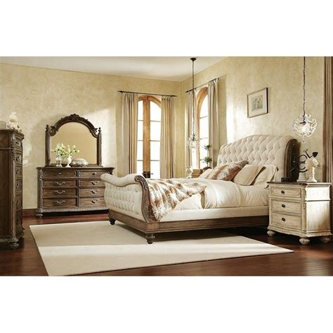 boutique bedroom furniture american drew mcclintock the boutique sleigh bed