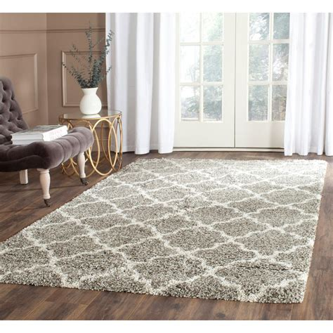 5 ft area rugs safavieh hudson shag gray ivory 3 ft x 5 ft area rug