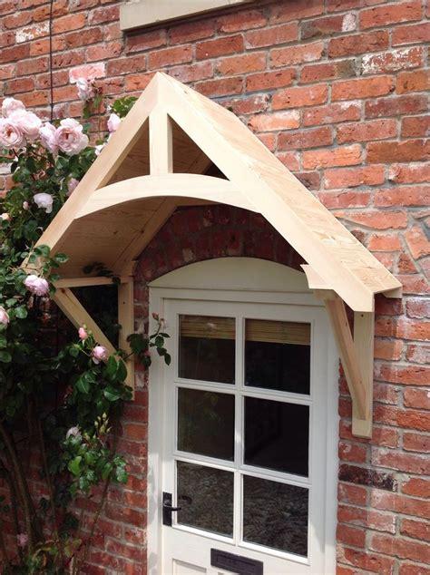 Door Canopy by Timber Front Door Canopy Porch Quot Crossmere Quot Made