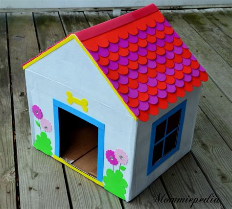 house craft for mommiepedia house from a recycled box