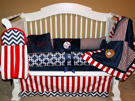 baseball nursery bedding sets boys custom baby bedding 6 pc set take me out to the