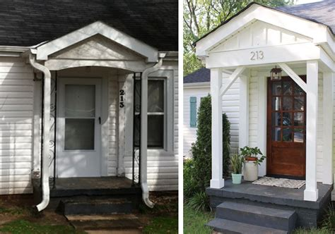 before and after cottage makeover before after cottage curb appeal makeover