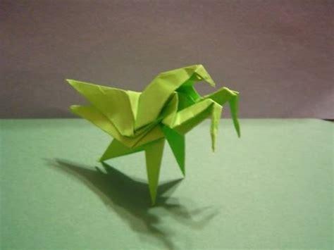 origami mantis origami daily 192 praying mantis modular origami