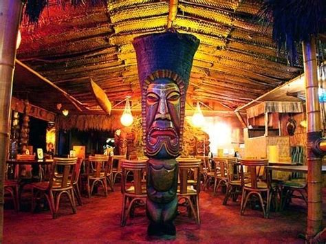 Inspired Home Interiors join the happy hour at kon tiki restaurant amp lounge in