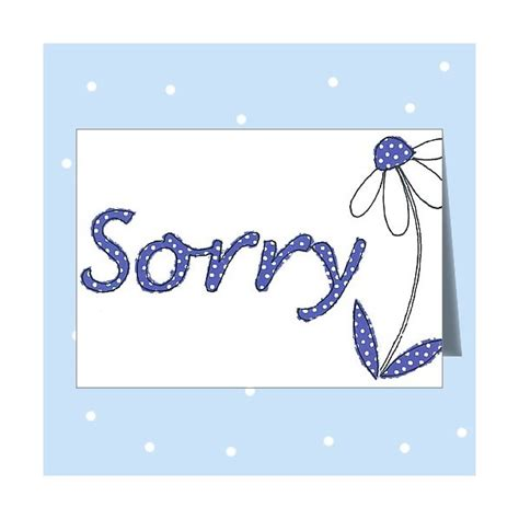 cards for sorry card