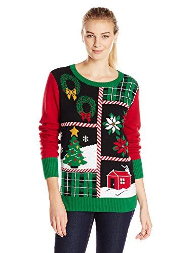 sweaters for with lights patchwork sweater with lights for