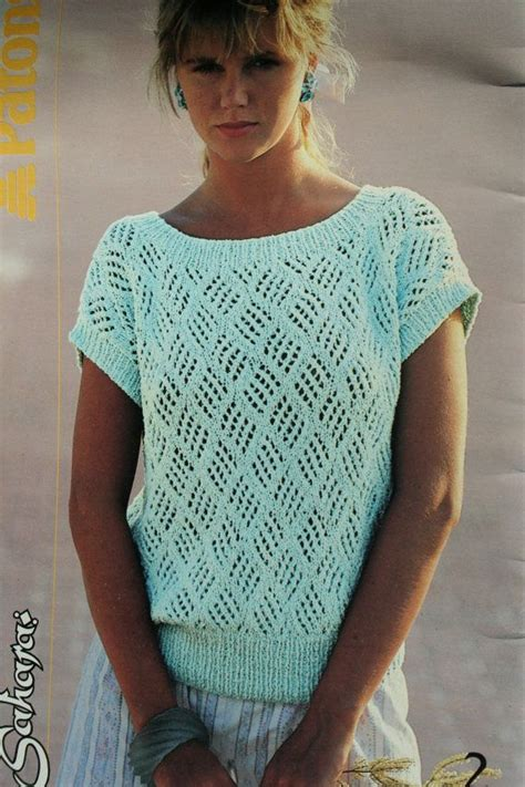 free knitting patterns for summer tops sweater knitting patterns summer cotton